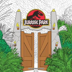 Jurassic Park Adult Coloring Book PDF