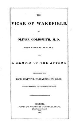 The Vicar of Wakefield     PDF