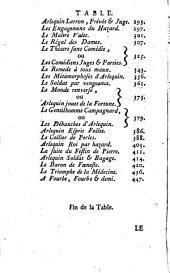 Histoire de l'ancien théatre italien, depuis son origine en France jusqu'à la suppression en l'année 1697: suivie des extraits ou canevas des meilleures pièces italiennes qui n'ont jamais été imprimées