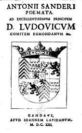 Poemata. Ad principem D. Ludov. comitem Edmondanum