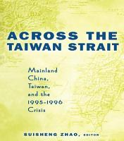 Across the Taiwan Strait PDF