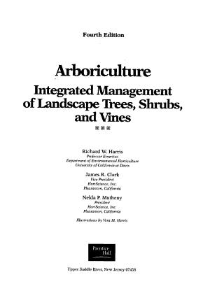 Arboriculture PDF