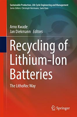 Recycling of Lithium-Ion Batteries