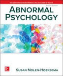 Abnormal Psychology 8e