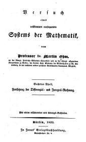 Lehrbuch der höhern Analysis: ¬Vierter ¬Theil, Fortsetzung der Differenzial- und Integral-Rechnung : mit vielen erläuternden und Uebungs-Beispielen. 4