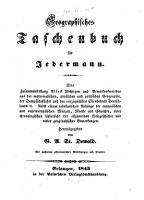 Geographisches Taschenbuch f  r Jederman PDF