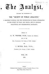 The Analyst: Volume 4