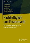Nachhaltigkeit und Finanzmarkt PDF