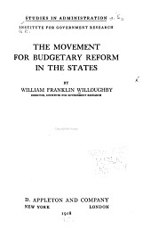 The Movement for Budgetary Reform in the States: Issue 4