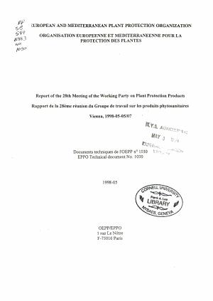Document Technique de L OEPP  PDF