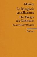 Der B  rger als Edelmann PDF