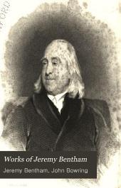 Works of Jeremy Bentham: Volume 2, Part 1