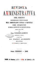 Rivista amministrativa del Regno giornale ufficiale delle amministrazioni centrali, e provinciali, dei comuni e degli istituti di beneficenza