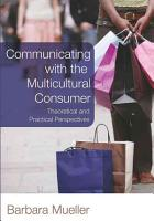 Communicating with the Multicultural Consumer PDF