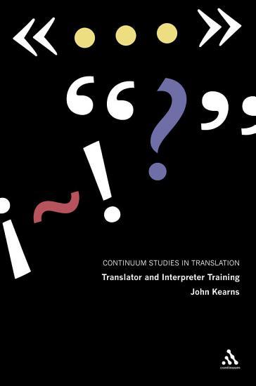 Translator and Interpreter Training PDF
