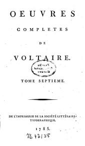 Oeuvres complètes: Volume7