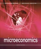 Microeconomics: Edition 9