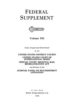 Federal supplement   First Series   PDF