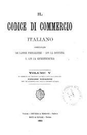 Il Codice di commercio italiano: Volume 5