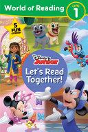 World of Reading Disney Junior: Let's Read Together!