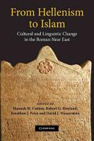 From Hellenism to Islam PDF