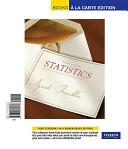Statistical Methods for the Social Sciences  Books a la Carte Edition Book