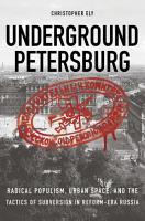 Underground Petersburg PDF