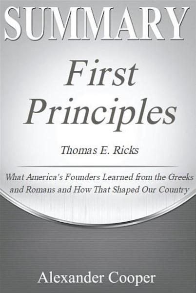 Download Summary of First Principles Book