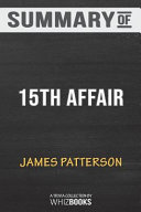 Summary of 15th Affair  Women s Murder Club by James Patterson  Trivia Quiz for Fans