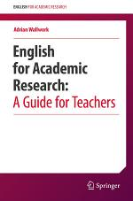 English for Academic Research: A Guide for Teachers