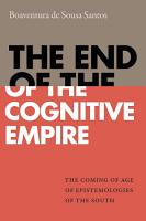 The End of the Cognitive Empire PDF