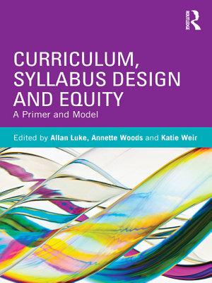 Curriculum  Syllabus Design and Equity