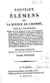 Nouveaux élémens de la science de l'homme: Volume1