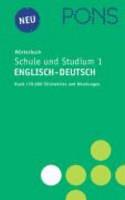 PONS W  rterbuch f  r Schule und Studium Englisch 1  Englisch   Deutsch PDF