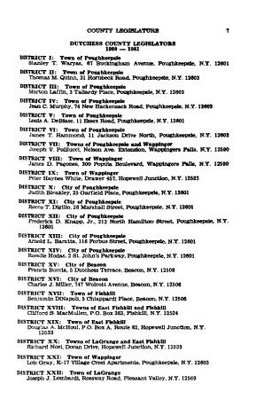 Proceedings of the County Legislature of the County of Dutchess PDF