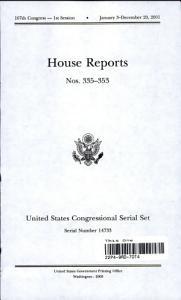 United States Congressional Serial Set  Serial No  14733  House Reports Nos  335 353 PDF