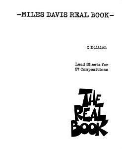 Miles Davis Real Book  Songbook  PDF
