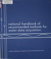 National Handbook of Recommended Methods for Water data Acquisition PDF