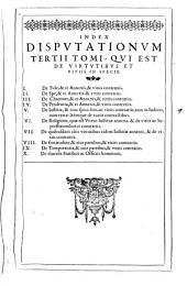 Gregorii de Valentia ... Commentariorum theologicorum tomi IIII ...: tomus primus [-quartus], Volume 3
