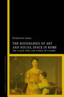 The Boundaries of Art and Social Space in Rome PDF