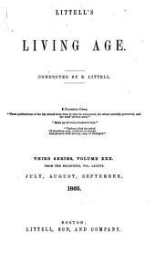Littell's Living Age: Volume 86