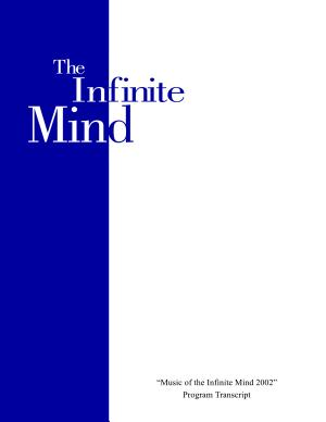 Music Of The Infinite Mind 2002