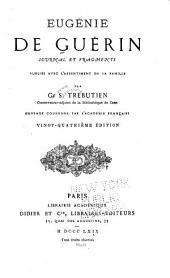 Eugénie de Guérin: journal et fragments