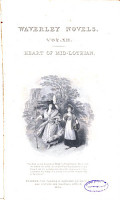 The Waverley Novels  Heart of Mid Lothian  Pt  1  1830 PDF
