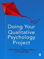 Doing Your Qualitative Psychology Project PDF