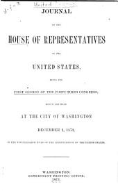 Journal of the House of Representatives of the United States: Volume 43, Issue 1