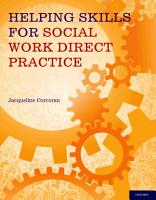 Helping Skills for Social Work Direct Practice PDF