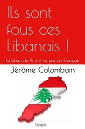 Ils sont fous ces Libanais !: Le Liban de A à Z vu par un Français