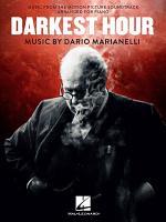 Dario MarianelliI  Darkest Hour  Solo Piano  PDF