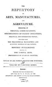 The Repertory of Arts and Manufactures